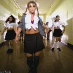 Britney Spears chords for Hit me baby one more time