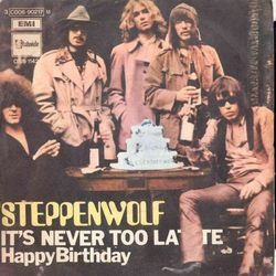 Steppenwolf chords for Happy birthday