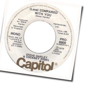 Love Compared With You Guitar Chords By Steve Harley And Cockney