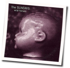 The Sundays chords for Wild horses