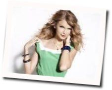 Taylor Swift guitar chords for Beautiful eyes