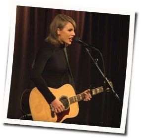 Taylor Swift guitar chords for Blank space acoustic (Ver. 2)