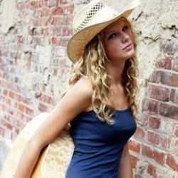Taylor Swift guitar chords for Closest to a cowboy