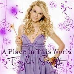 Taylor Swift chords for Place in this world