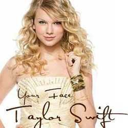 Taylor Swift chords for Your face