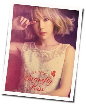 Taeyeon (태연) guitar chords for I blame on you