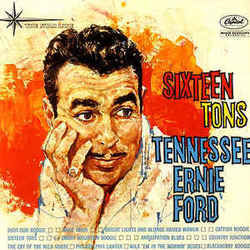 Tennessee Ernie Ford bass tabs for Sixteen tons
