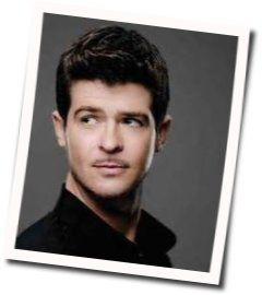 Robin Thicke chords for Give it 2 u