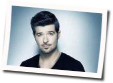 Robin Thicke chords for Lost without you (Ver. 2)