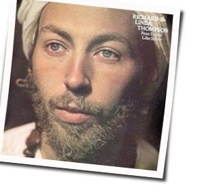Richard Thompson tabs and guitar chords