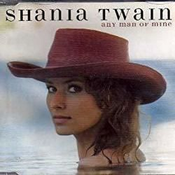 Shania Twain chords for Any man of mine