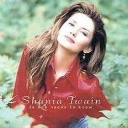 Shania Twain bass tabs for No one needs to know