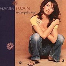 Shania Twain chords for Youve got a way (Ver. 3)