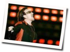 U2 guitar chords for California (there is no end to love)