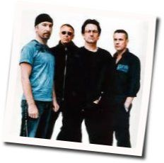 U2 guitar chords for This is where you can reach me now (Ver. 3)