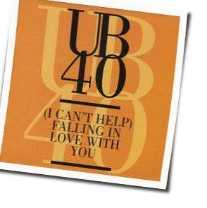 Ub40 guitar chords for I cant help falling in love with you