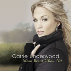 Carrie Underwood tabs for How great thou art