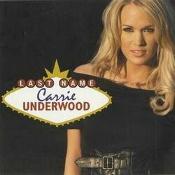 Carrie Underwood chords for Last name