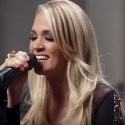Carrie Underwood chords for Little girl dont grow up too fast