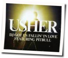Usher guitar tabs for Dj got us falling in love