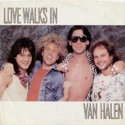 Van Halen guitar chords for Love walks in