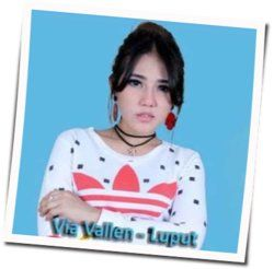 Via Vallen guitar chords for Luput