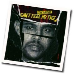 The Weeknd tabs for Cant feel my face