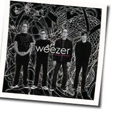 Weezer chords for Friend of a friend