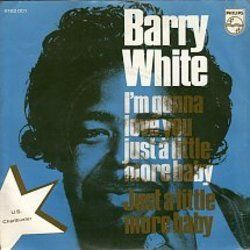 Barry White bass tabs for Im gonna love you just a little bit more