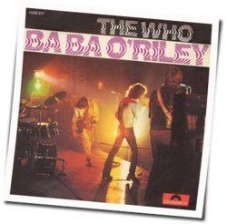 The Who guitar chords for Baba oriley
