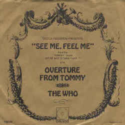 The Who guitar chords for See me feel me