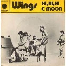 Wings chords for C moon