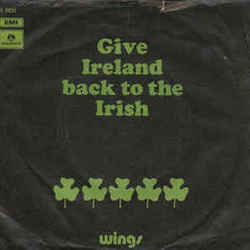 Wings chords for Give ireland back to the irish