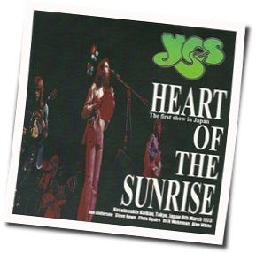 Yes chords for Heart of the sunrise