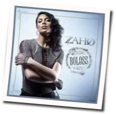 Zaho chords for Boloss