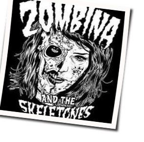 Zombina And The Skeletones chords for The first kiss custs deepest